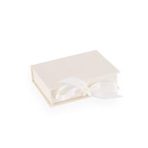Box mit Satinband, Ivory