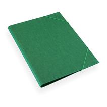 Folder A4 cloth Duo green