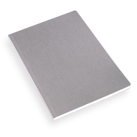 NOTEBOOK SOFT COVER, DARK GREY