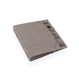 Recipe binder Light grey