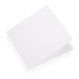 Faltkarte aus Baumwollpapier