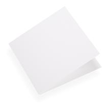Carte double, papier coton
