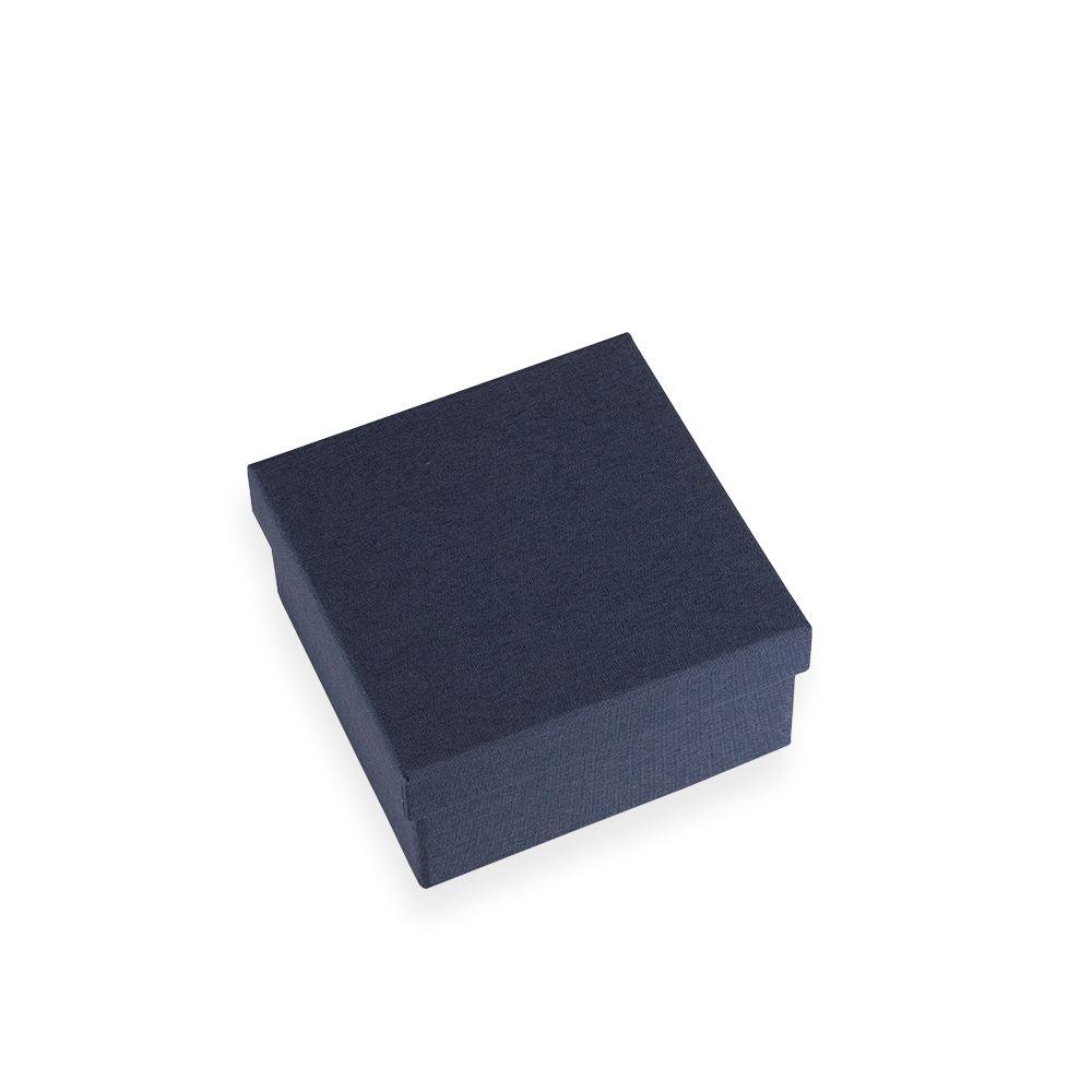 Vävklätt smyckeskrin, Mörkblå