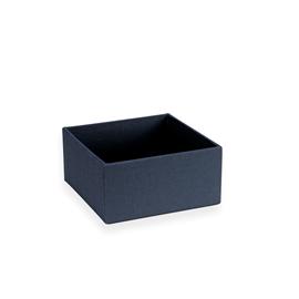 Petite boîte carrée ouverte, Smoke Blue