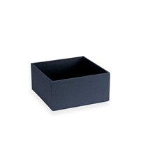 Box, Open, Smoke Blue