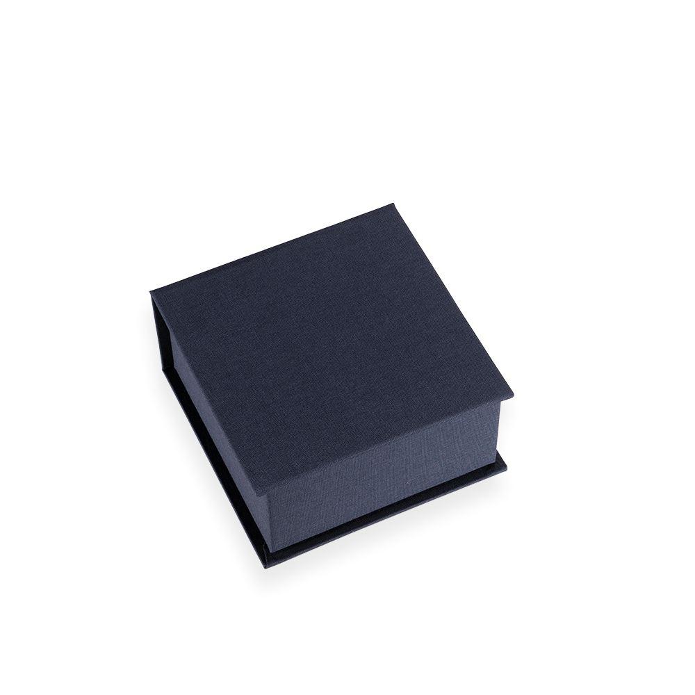 Box with lid, smoke blue