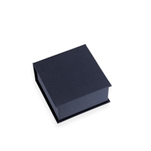 Box mit Deckel, smoke blue