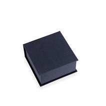 Box with lid, Dark blue