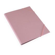 Folder A4 cloth Ottawa Dusty pink