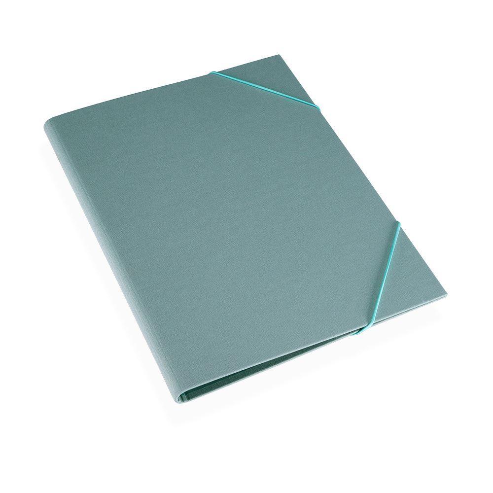 Folder A4 cloth Ottawa Dusty green