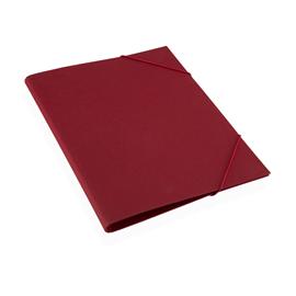 Folder A4 cloth Iris rosenrot