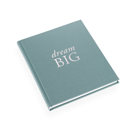 "Notebook ""Dream big"" Light Green"