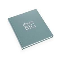 """Skrivbok """"Dream big"""" ljusgrön"""