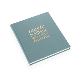 "Notebook ""Magic Brilliant"" Light Green"