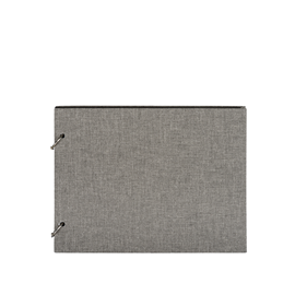 Photo album Columbus, pebble grey