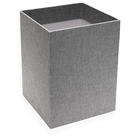 Paper Bin, Pebble Grey