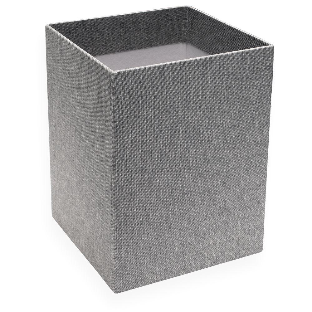 Paper Bin, Pebble Grey