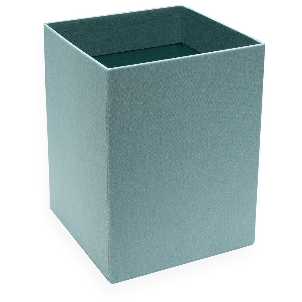 Paper bin, Dusty green