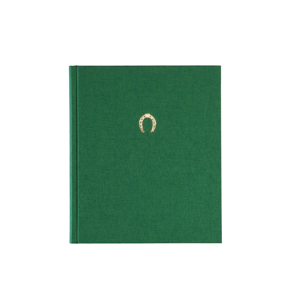 Notebook hardcover, Green