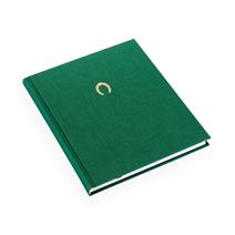 Inbunden anteckningsbok, Grön