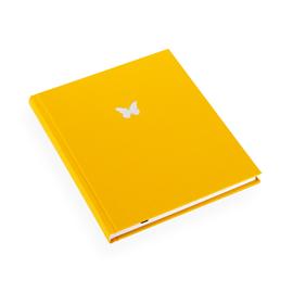 Carnet en toile, sun yellow