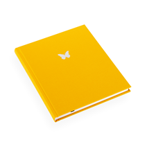 Notebook hardcover, Sun yellow