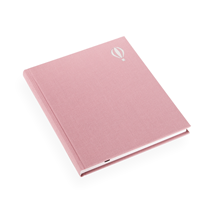 Carnet en toile, Dusty Pink