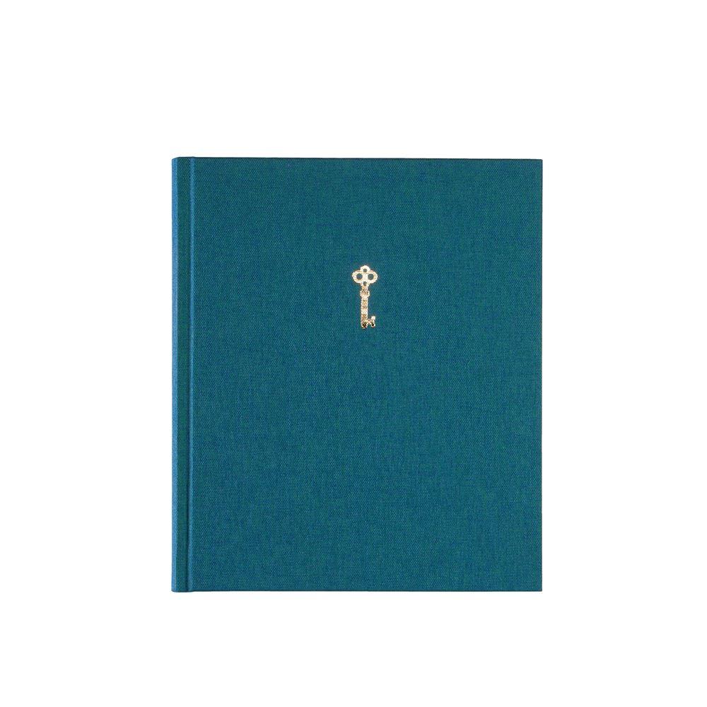 Notebook hardcover, Emerald