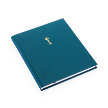 Notebook hardcover, Emerald