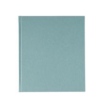 Notebook hardcover, Dusty green