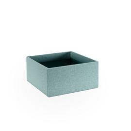 Petite boîte carrée ouverte, Dusty Green