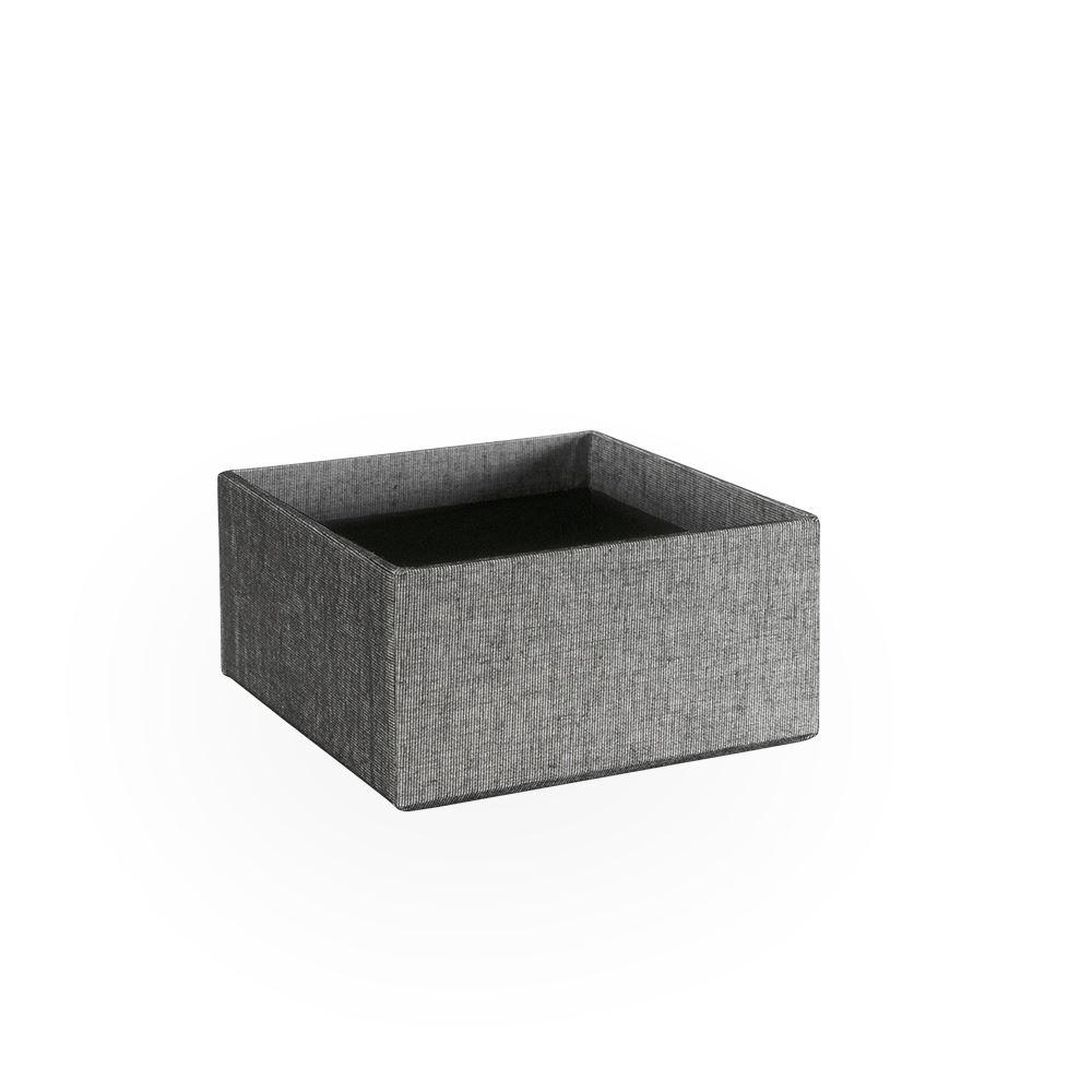 Box, open, Black/White
