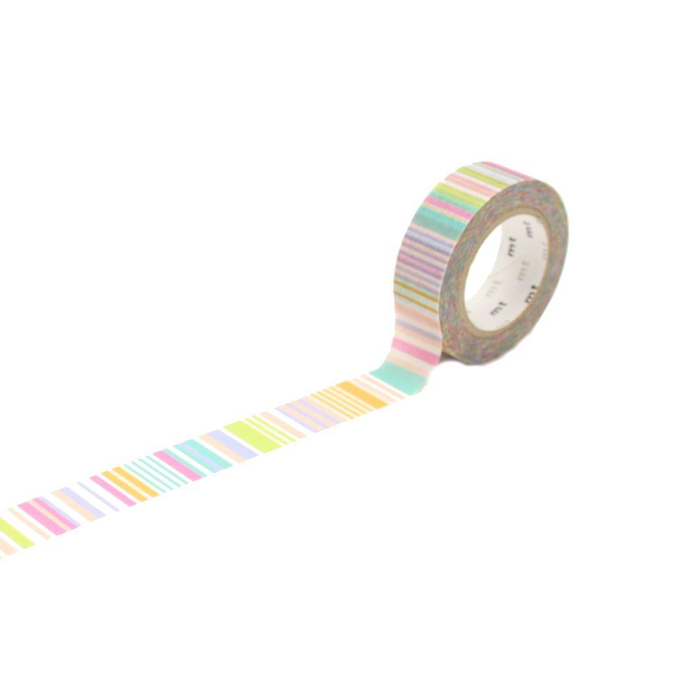 Washi - Multi Border Pastel
