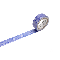 WASHI - BORDER & CIRCLE BLUE