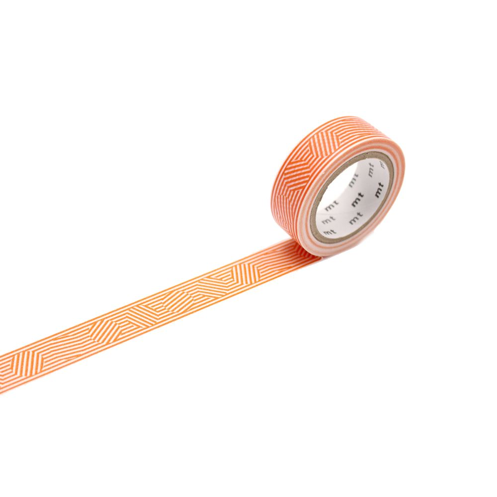 WASHI - BLOCK STRIPE ORANGE
