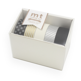 WASHI - GIFTBOX MONTONE