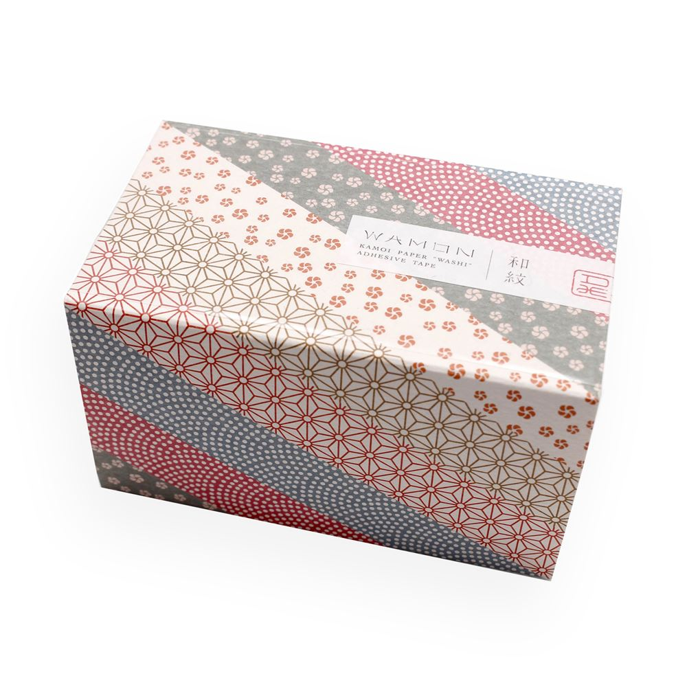WASHI - GIFTBOX WAMON 5 rolls