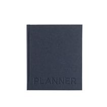 Hardcover Weekly Undated Planner, Smoke Blue