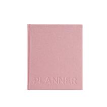 Undatierter Wochenplaner, gebunden, Dusty Pink