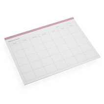 Planner détachable, dusty pink