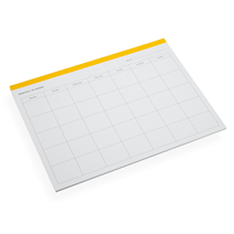 Monthly Planner, Sun Yellow