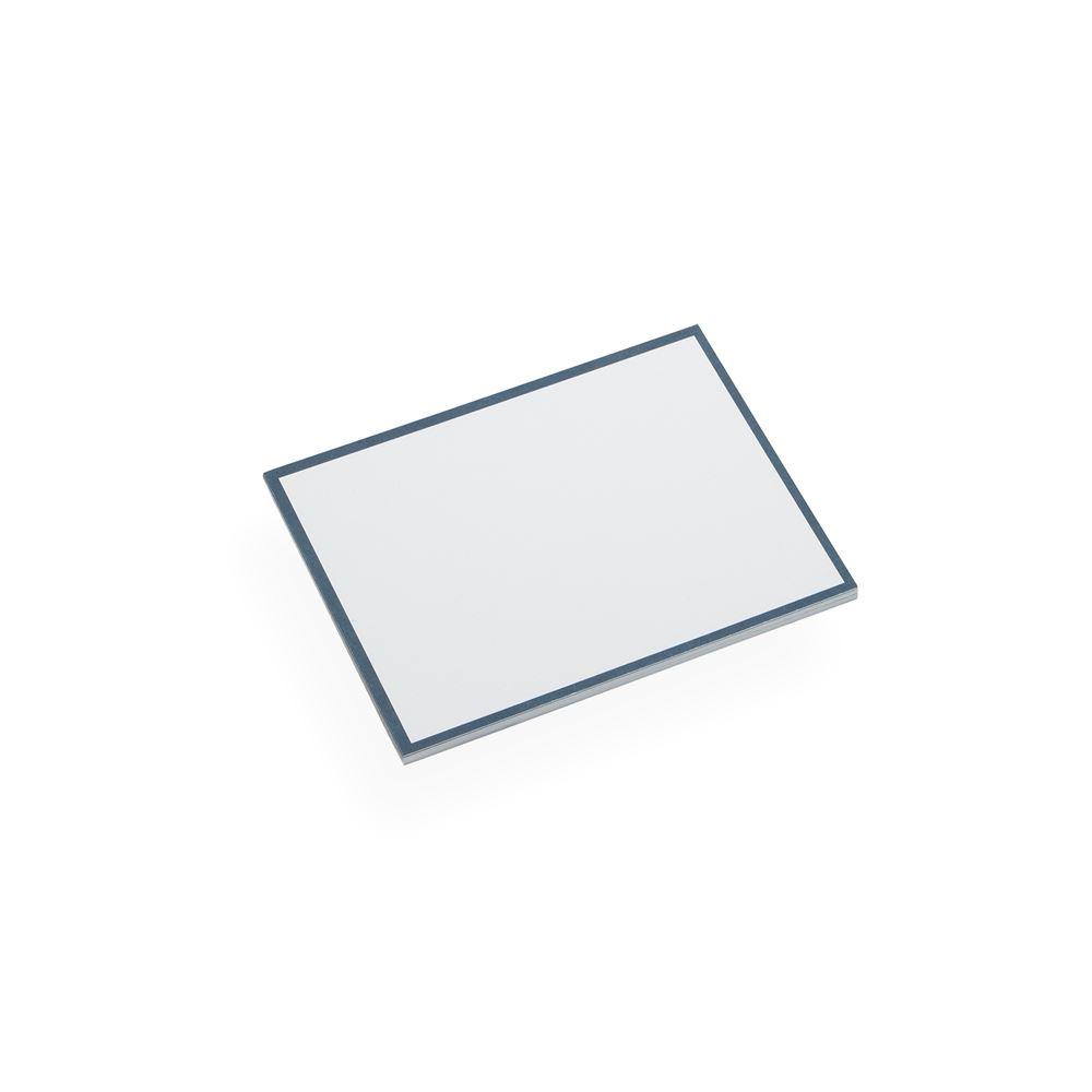 Korrespondenzkarte, Smoke Blue
