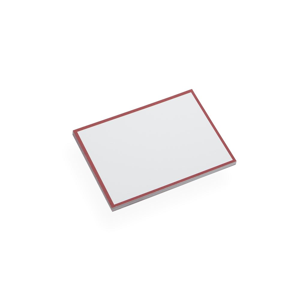 Cartes de Correspondance, Rouge