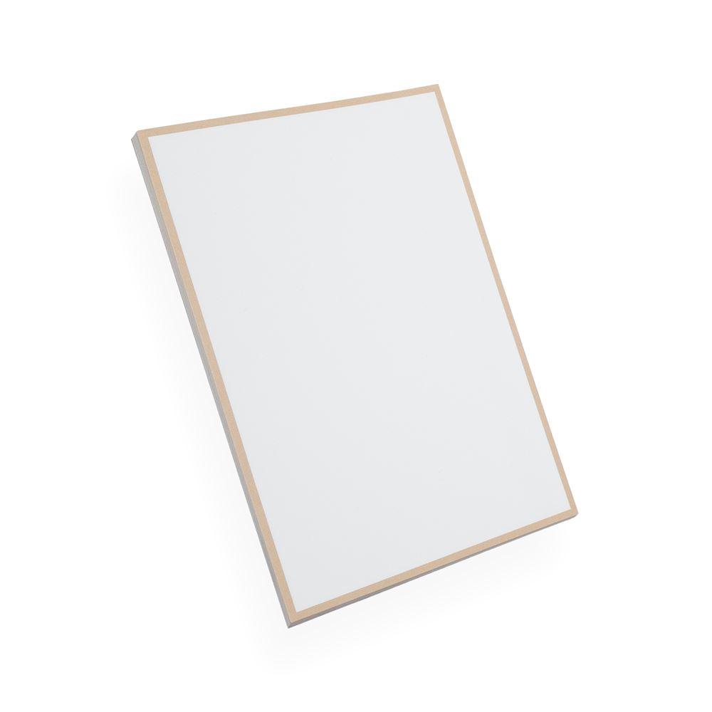 Papier à lettres, beige