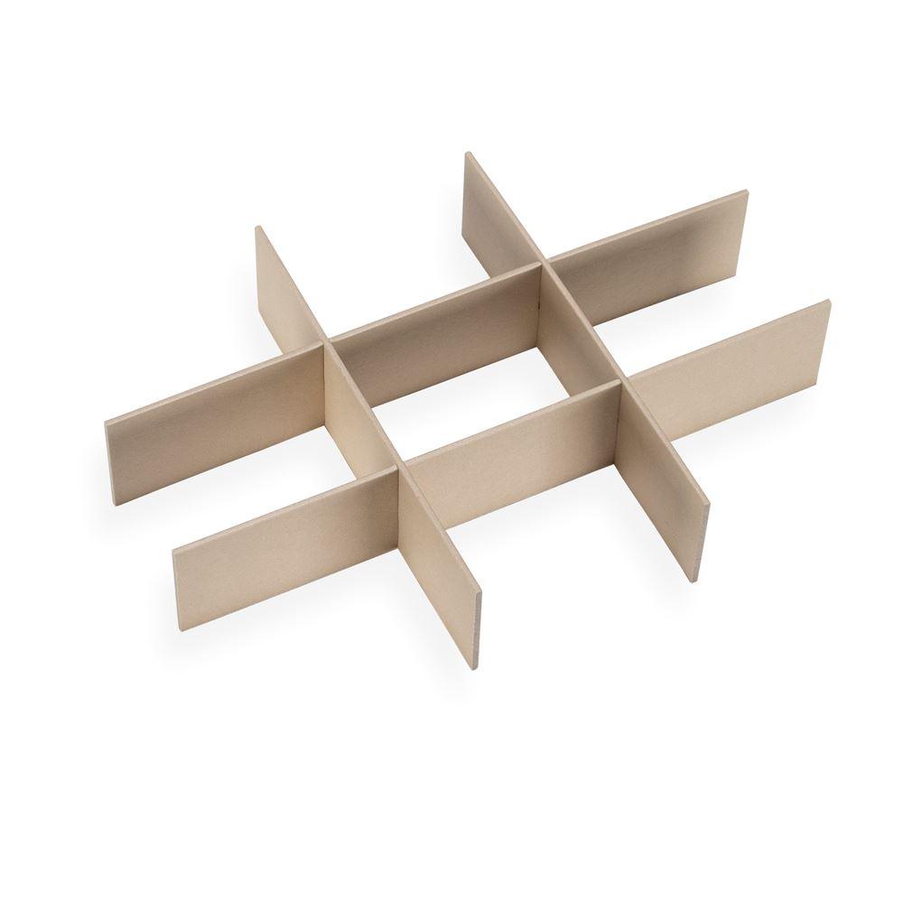 BOX DIVIDER, SANDBROWN