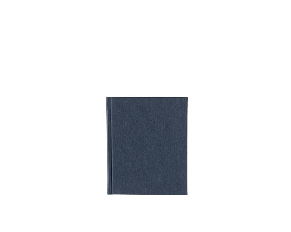 Carnet toilé, Smoke Blue