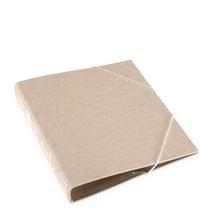 Ringbinder 170*200 RETRO Kitchen Record sandbrown trio white embossing