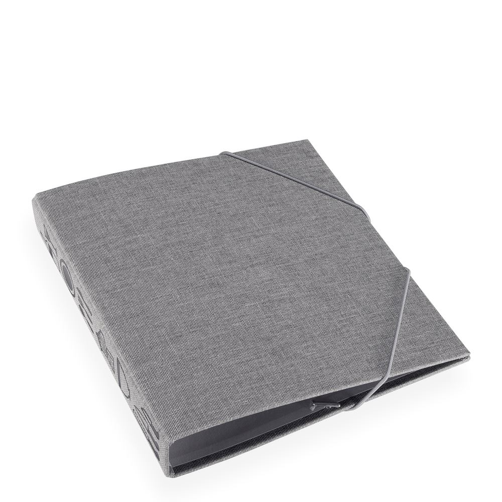 Kitchen binder, light grey