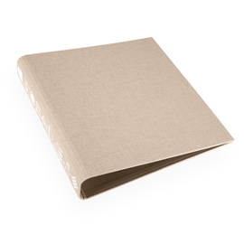 Recipe binder, Sand Brown