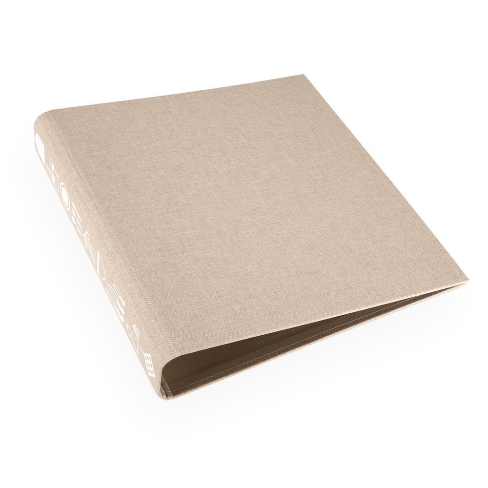 Recipe binder, Sand Brown